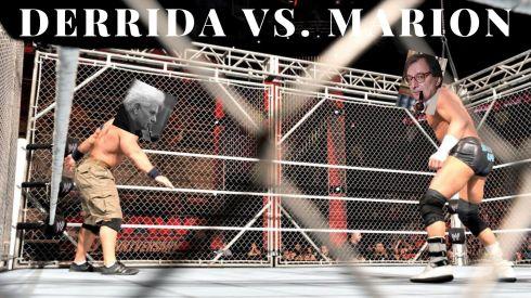 MARION vs DERRIDA